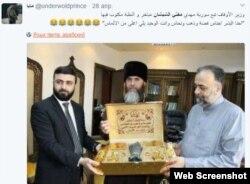 Арабских пользователей соцсетей рассмешила надпись на подарке сирийского правительства муфтию Чечни