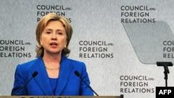 Хиллари Клинтон, Вашингтон, 15 июля 2009 г