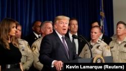 Дональд Трамп Лас-Вегаска барган учурда.