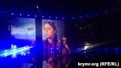 """Украина, Киев, национальный отбор на """"Евровидение-2016"""", Джамала, 21 февраля, 2016"""
