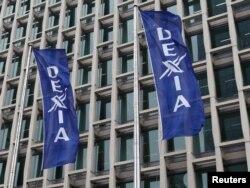 """""""Dexia"""" bankynyň baş edarasy, Brýussel."""