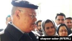 نجیب الله خواجه عمری، وزیر تحصیلات عالی افغانستان در هرات
