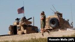 Militari americani în Siria (foto arhivă)