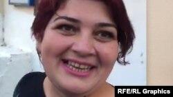 Сотрудник Азербайджанской редакции Азаттыка Хадиджа Исмаилова.