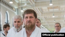 Рамзан Кадыров ажылыкта жүрөт. 20-август, 2018-жыл.