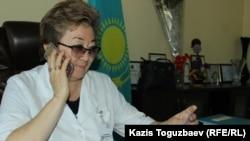 Майра Егембердиева, директор Центральной районной больницы Илийского района.