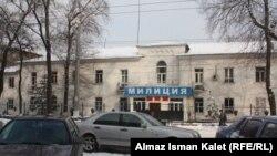 Здание УВД Ленинского района города Бишкека.