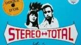 """Фрагмент конверта """"золотого переиздания"""" альбома Stereo Total под названием Yéyé Existentialiste"""