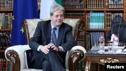 Министр иностранных дел Паоло Джентилони.