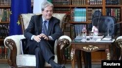 Италия сыртқы істер министрі Паоло Джентилони. Ирак, 23 желтоқсан 2014 жыл.