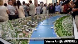 Maketa Beograda na vodi