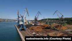 Порт Ванино в Хабаровском крае