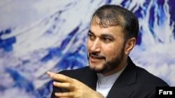حسين امير عبداللهيان،معاون عربی آفريقای وزير امور خارجه ايران،