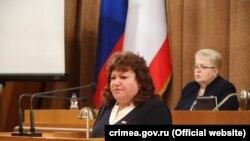 Депутат российского парламента Крыма от Керчи Ирина Черненко