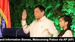 Predsednik Filipina Rodrigo Duterte
