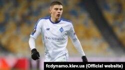 Український футболіст, гравець київського «Динамо» Віталій Миколенко