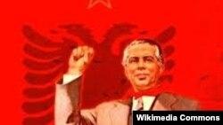 Alban kommunisti Enver Hoxha (1908-1985)