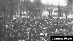 Birinci Qırımtatar Milliy Qurultayı. 1917 senesi, noyabr ayı
