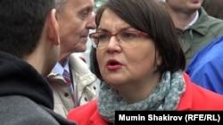 Москва шаҳри думаси депутати Юля Галямина