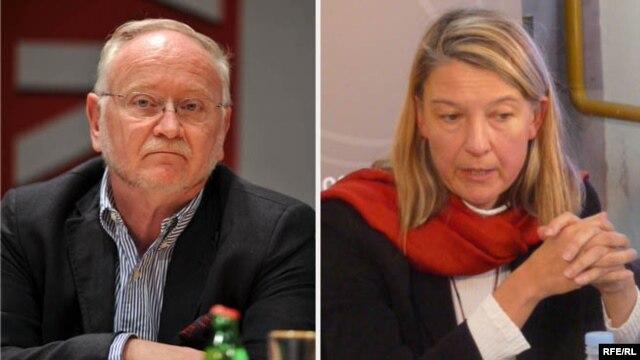 Žarko Korać i Vesna Teršelič