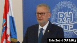 Migrant je zadobio težu ozlijedu: Davor Božinović