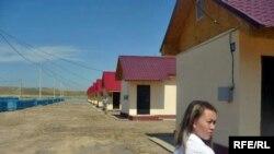 Алатау ауданында жаңадан салынған «Саялы» ықшамауданында 60 үй пайдалануға берілді. Алматы, 2 шілде 2009 ж.