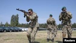 Українські прикордонники на тренуванні, ілюстртивне фото