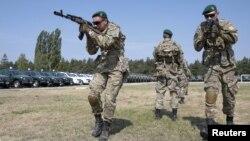 Українські прикордонники на тренування, ілюстраційне фото