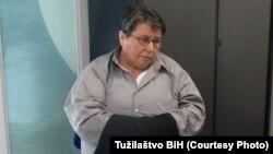 Azra Bašić tokom ekstradicijskog postupka iz Sjedinjenih Država u BiH, foto arhiva
