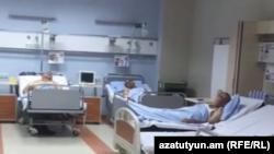 Վիրավորները՝ «Էրեբունի» հիվանդանոցում, 21-ը հուլիսի, 2016թ․