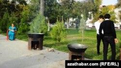 Gurban baýramy, Aşgabat