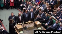 Sednica parlamenta Velike Britanije, London