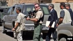 Сотрудники Blackwater в Ираке, 2003 год