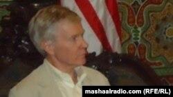 Райан Крокер в Афганистане в августе прошлого года.