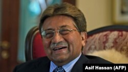 Pakistani former military ruler General Pervez Musharraf, pictured November 14, 2014.