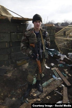 Александр Сергеев на передовой