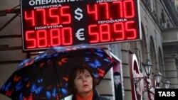 Curs valutar la Moscova, 7 noiembrie 2014
