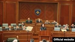Presednica Kosova u obraćanju Parlamentu