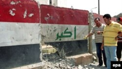 حملة لإزالة الجدران الكونكريتية في بغداد