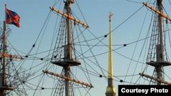 Капитан «Штандарта» надеется найти спонсоров, чтобы заменить мачту и вновь поднять паруса