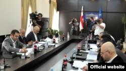 Тбилиси. Подготовка к муниципальным выборам 2010 г