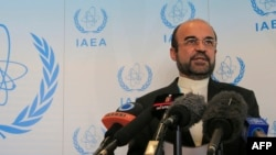 Iran envoy to the UN nuclear agency, Reza Najafi