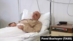 Михаил Краснощёков в госпитале Белграда, 31 мая 2019 года