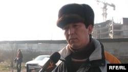Әскери зейнеткер, запастағы подполковник Раушанбек Ботантаев.