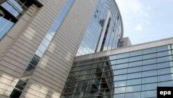 Бельгия - Здание Европейского парламента в Брюсселе