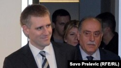 Premijer Igor Lukšić i ministar spoljnih poslova Milan Roćen