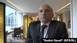 Асадулло Зикрихудоев, раҳбари Иттиҳодияи миллии маъюбони Тоҷикистон.