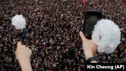 Протесты в Гонконге, 16 июня 2019 г.