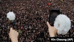 Honq Konqda etirazlar, arxiv fotosu