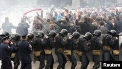 Ukrainian riot police (file photo)